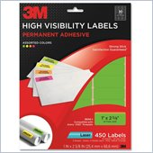 3M High Visibility Label