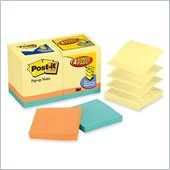 Post-it Pop-up Notes Value Pack in Canary Yellow plus 4 FREE Neon Pads