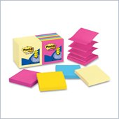 Post-it Pop-up Notes in Canary Yellow and Neon Colors