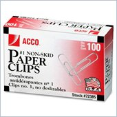 Acco Economy Non-Skid Paper Clip
