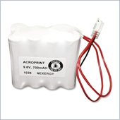 Acroprint Nickel Cadmium Electronic Time Recorder battery