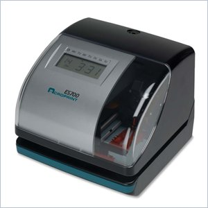 Acroprint ES700 Multi-function Side Printing Time Recorder