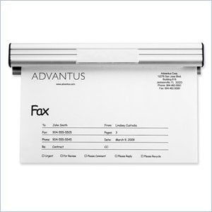 Advantus Fax & Message Holder
