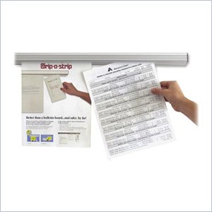 Advantus Grip-A-Strip Message Holder