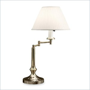 Ledu Lacquered Mushroom Shade Table Lamp