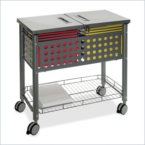 Vertiflex SmartWorx Sidekick File Cart