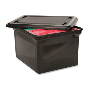 Advantus File Tote with Lid