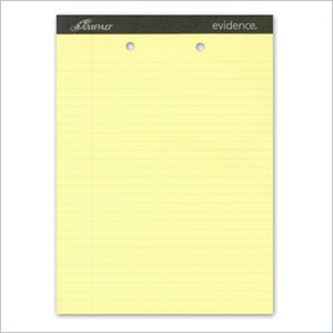 Ampad Perforated Pad