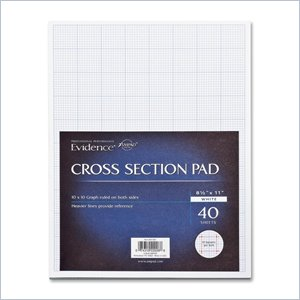 Ampad Cross-section Quadrille Pads