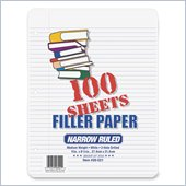 Ampad 3-Ring Notebook Filler Paper