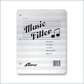 Ampad 10 Staves Music Filler Paper