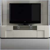 Rossetto Domino TV Unit in Ivory