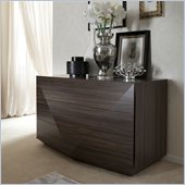 Rossetto Sapphire Dark Walnut Dresser