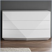Rossetto Sapphire White Dresser in White