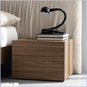 Rossetto Start Night Stand in Walnut