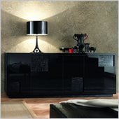 Rossetto Nightfly Buffet in Black