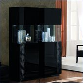 Rossetto Nightfly Right Door Curio in Black