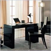 Rossetto Nightfly Home Office Desk in Black