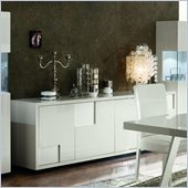 Rossetto Nightfly 79 Inch Wide Buffet in White