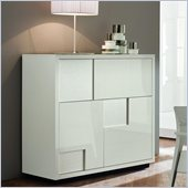 Rossetto Nightfly Bar Buffet in White