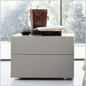 Rossetto Sound Open Pore Night Stand in Grey