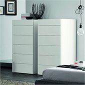 Rossetto Start Matrix 6 Drawer Chest in White