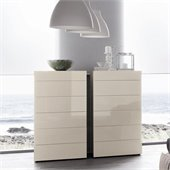Rossetto Start 6 Drawer Chest in White