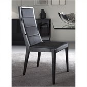 Rossetto Sapphire Dining Chairs in Black (Set of 2)