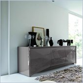 Rossetto Sapphire 74 Inch Wide 4 Drawer Buffet in Grey
