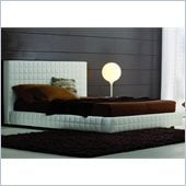 Rossetto Alix Tall Headboard Platform Bed in White