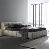 Rossetto Cloud Platform Bed in Corda (Beige)