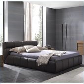 Rossetto Cloud Platform Bed in Brown