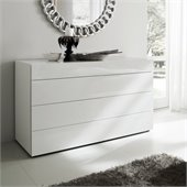 Rossetto Start 3 Drawer Dresser in White