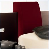 Rossetto Win Headboard Pillow in Red (Set of 2)