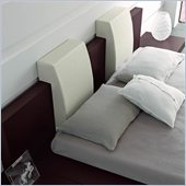 Rossetto Win Headboard Pillow in White (Set of 2)