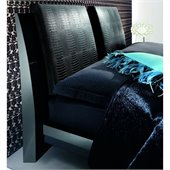 Rossetto Diamond Headboard Pillows in Black (Set of 2)