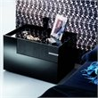 ADD TO YOUR SET: Rossetto Diamond Left Night Stand in Black