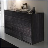 Rossetto Nightfly Dresser in Ebony