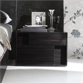 Rossetto Nightfly Right Night Stand in Ebony