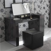 Rossetto Nightfly Dressing Table in Ebony