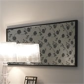 Rossetto Nightfly Mirror in Black