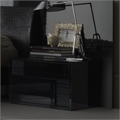 Rossetto Nightfly Right Night Stand in Black