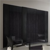 Rossetto Nightfly 2 Door Sliding Wardrobe in Ebony