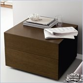 Rossetto Sound Night Stand in Tobacco Oak