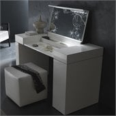 Rossetto Nightfly Dressing Table in White