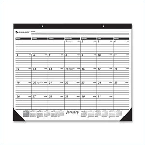 At-A-Glance Desk Pad Calendar