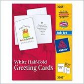 Avery Half-fold Greeting Card