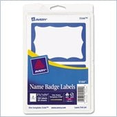 Avery Self-Adhesive Name Badge Label