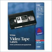 Avery Video Tape Label
