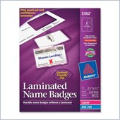 Avery Laminated Name Badge Kit